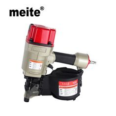 163.00$  Buy now - http://alixxp.worldwells.pw/go.php?t=32792827124 - MEITE Coil nailer CN80B industrial air coil nail guns powerful Pneumatic roofing coil nailers professional woodworking tools