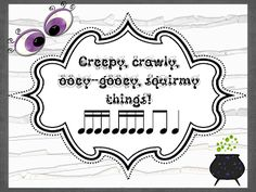 This is along the same idea as the previously published Halloween Rhythm Slides for 2nd grade only this time with sixteenth, sixteenth and e...