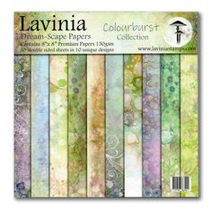 *1 Dreamscape Papers: Colourburst £10.80 Scrapbooking, Scrapbook Cards, Lavinia Stamps Cards, Card Making Supplies, Craft Supplies, Parchment Craft, Watercolor Design, Home And Deco, Paper Cards