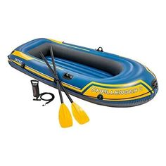 Pumps Intex Challenger Inflatable Boat Set with French Oars and High Output Air Pump (L. Intex Challenger Inflatable Boat Set with French Oars and High Output Air Pump (L. Best Inflatable Boat, Inflatable Fishing Kayak, Inflatable Island, Kayak Fishing, Sea Fishing, Kayaking Tips, Whitewater Kayaking, Small Fishing Boats, Small Boats