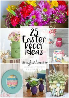 Easter Decor Ideas |
