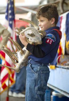 ElkFest is weekend of activities built around the world famous Jackson Hole Boy Scout Elk Antler Auction. #Wyoming