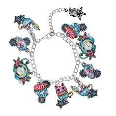 Alice in Wonderland bracelet www.alternadolls.com
