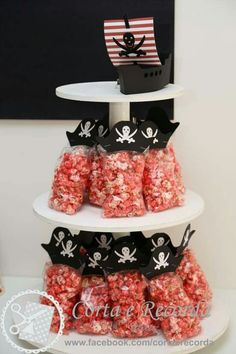 @AranzaDrive ❁ Pirate Birthday Cake, Birthday Souvenir, Mermaid Birthday, Birthday Pins, Pirate Day, Pirate Theme, Theme Mickey, Under The Sea Party, 4th Birthday Parties