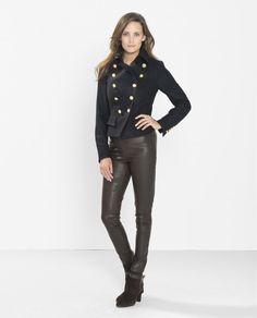 PAUW - Leather Leggings