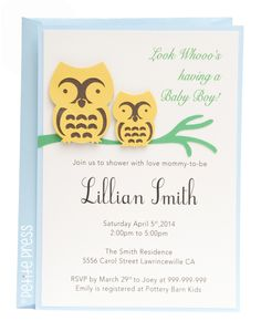 baby shower invitations handmade baby and shower invitations