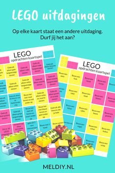 Games For Kids, Diy For Kids, Lego Challenge, What To Do When Bored, Lego Duplo, 4 Year Olds, Scandal Abc, Business For Kids, Team Building