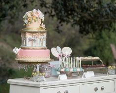 "Pretty Pinks and Sweets | ""Whimsical Carousel"" Inspiration at the Malana Estate 
