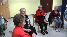 Sitztanzgruppe im Mehrgenerationenhaus Wesel