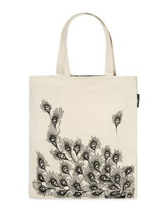 Out of Print Tote, either pride and prejudice or one of the due date slip totes