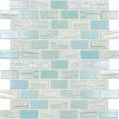 Glass Pool Tile, Glass Mosaic Tiles, Stone Mosaic, Wall Tiles, Peel N Stick Backsplash, Kitchen Backsplash, Recycled Brick, Swimming Pools Backyard, Pool Spa