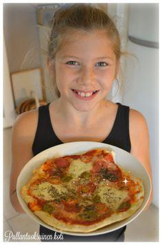 Pullantuoksuinen koti: Pizzaa ja Vohveleita - helpommin ja nopeammin