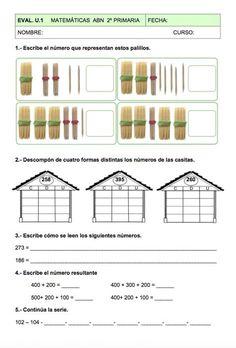 Evaluación Unidad 1 Matemáticas ABN