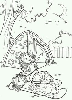 Printable Camping Word Search And Coloring Page Will Keep