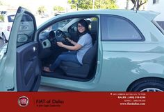 https://flic.kr/p/GhqjyV   Happy Anniversary to Jose & Maria on your #FIAT #500 from Araceli Munoz at FIAT of Dallas!   deliverymaxx.com/DealerReviews.aspx?DealerCode=F741