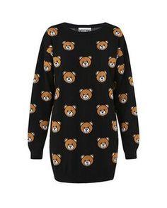 Moschino Teddy Bears Women Sweaters Dress