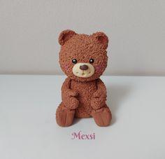 Macík , figúrky, fotopostupy   Tortyodmamy.sk Amazing Cakes, Teddy Bear, Toys, Animals, Deco, Activity Toys, Animales, Animaux, Clearance Toys