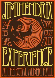 38 Ideas For Music Poster Retro Jimi Hendrix Poster Retro, Vintage Concert Posters, Vintage Posters, Gig Poster, Rock Posters, Band Posters, Hippie Posters, History Posters, Blues Rock