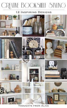 Creative Bookshelf Styling - 12 Inspiring Designs