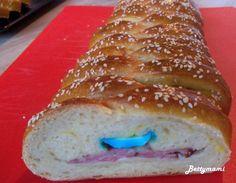 Húsvéti kígyórétes természetes(en) kovásszal   Betty hobbi konyhája Bread, Food, Brot, Essen, Baking, Meals, Breads, Buns, Yemek