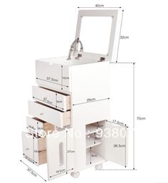 by DHL beds bedroom furniture pink white night stand cabinet table ...