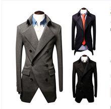 Áo khoác dạ nam thời trang, kiểu dáng lịch lãm, phong cách đàn ông
