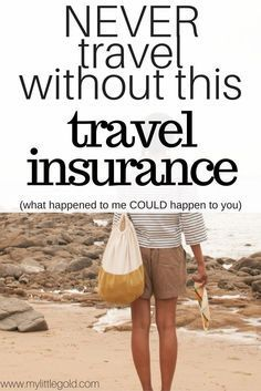 NEVER travel without this travel insurance!  I recently traveled to Asia for a vacation and was in the Philippines visiting El Nido.  Somehow I got a severe eye infection that lead to a corneal ulcer and ALMOST LOST MY EYE!  You think nothing will happen to you when you're on vacation but oh man you never know.