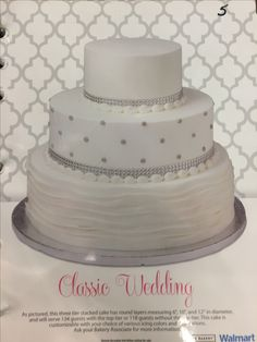 Walmart Wedding Cake Prices and Pictures | Walmart Wedding Cakes2 ...