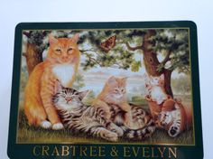 Vintage Crabtree and Evelyn Metal Tin 1993 by WylieOwlVintage, $15.00
