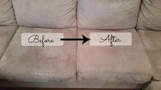 How To Clean a Microfiber Couch use rubbing alcohol in spray bottle for stains. Blot with clean cloth. Use baby oil blots for water stains.