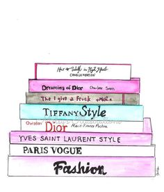 Fashion Books by Melsys on Etsy, $20.00