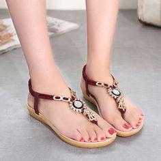 $8.79 (Buy here: https://alitems.com/g/1e8d114494ebda23ff8b16525dc3e8/?i=5&ulp=https%3A%2F%2Fwww.aliexpress.com%2Fitem%2FWomen-sandals-2016-New-Arrivals-Bohemia-style-women-sandals-summer-Cozy-beading-women-shoes%2F32657994807.html ) Women sandal 2016 New Arrivals Bohemia style women sandal summer Cozy beading women shoes for just $8.79