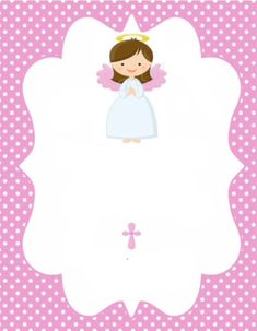 Christening Invitations Girl, Baptism Banner, Baptism Cookies, First Holy Communion, Scrapbook Paper, Gift Tags, Party Invitations, Baby Gifts, Crafts For Kids