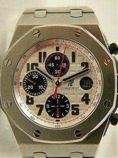 Audemars Piguet Royal Oak Offshore Themes Chronograph Panda $27 400 LNIB   eBay