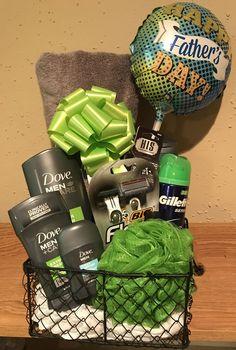 Men's Dove Gift Basket #ThoughtfulgiftsForHim