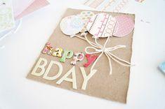 ✄ DIY BIRTHDAY CARD #DIY #card #birthdaycard