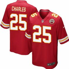 Jamaal Charles Jersey Kansas City Chiefs #25 Youth Red Limited Jersey Nike NFL Jersey Sale