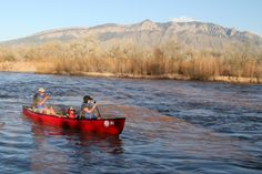 Quiet Waters Paddling Adventures' kayak and canoe tours of the middle Rio Grande Bosque. #abqtodo