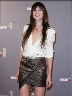 Charlotte Gainsbourg aux César 2013