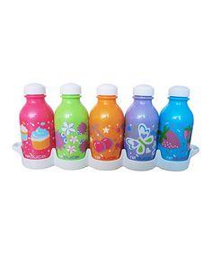 Look what I found on #zulily! WaterWeek Simply Sweet 10-Oz. Water Bottle Set #zulilyfinds
