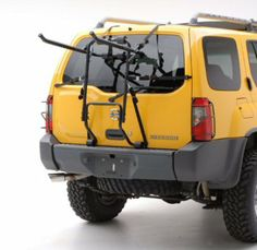 The family favorite trunk bike rack uses heavy duty steel tubing and hardware allowing it to carry up to 4 bikes and comes fully pre-assembled and folds flat for easy storage. Suv Bike Rack, Pvc Bike Racks, Bike Storage Rack, Car Racks, Bicycle Rack, Cruiser Bike Accessories, Mini Bike, Car Trunk