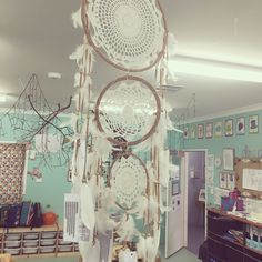 """"""" This is a dream catcher hanging from the roof of the toddler room, attached are…"""" Classroom Community, Parenting Styles, Dream Catcher, Gallery Wall, Parents, Instagram Posts, Frame, Home Decor, Dads"""