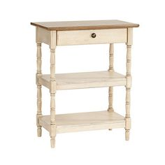 Laurel Side Table in Antique White