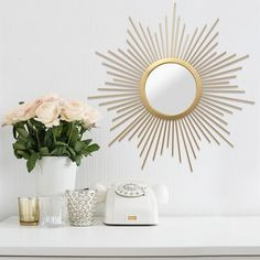Shop for Stratton Home Decor Bella Wall Mirror. Get free shipping at Overstock.com - Your Online Home Decor Outlet Store! Get 5% in rewards with Club O!