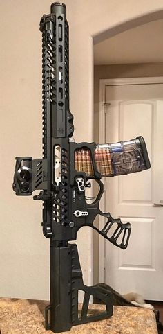 Build Your Sick Cool Custom Assault Rifle Firearm With This Web Interactive Firearm Builder with ALL the Industry Parts - See it yourself before you buy any parts Military Weapons, Weapons Guns, Guns And Ammo, M4 Airsoft, Custom Guns, Custom Ar15, Cool Guns, Assault Rifle, Firearms