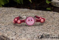Happy Kirby Bracelet by SubtleNerd on Etsy