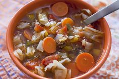 Curves Complete Cabbage Soup with Brown Rice