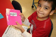 """Community Helpers activity- Students practice opening """"sight word mail"""""""