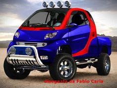 Smart Car SUV | smart-suv Weird Cars, Cool Cars, Car Chevrolet, Chevy, Smart Car Body Kits, Small Pickups, Microcar, Smart Fortwo, Car Mods