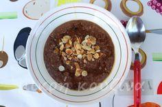Δυναμωτικό πρωινό με βρώμη Healthy Sweets, Healthy Recipes, Pudding, Breakfast, Desserts, Granola, Food, Teaching, Recipies